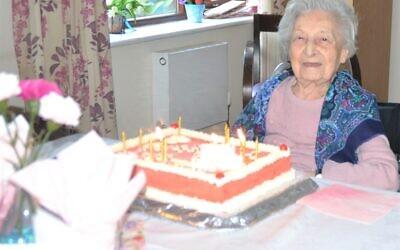 Betty Shapiro celebrates her centenary