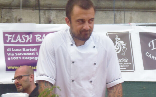 Gabriele Rubini, also known as Chef Rubio (Credit: Cifo Buscemi, www.commons.wikimedia.org/w/index.php?curid=34147223)