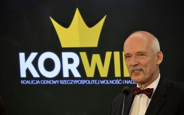 Janusz Korwin-Mikke (Wikipedia/uthorAdrian Grycuk/ Attribution-ShareAlike 3.0 Poland (CC BY-SA 3.0 PL))