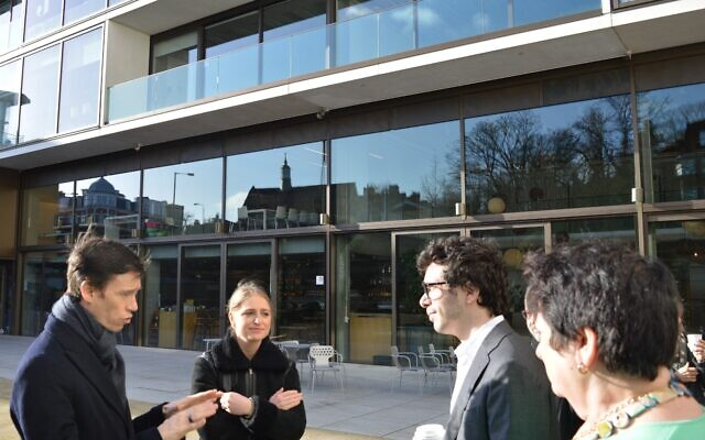 Rory Stewart speaking at JW3 earlier this month.