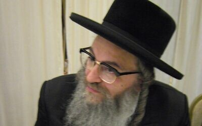 Rabbi Uri Ashkenazi (Wikipedia/AuthorCheskel dovid/Attribution 3.0 Unported (CC BY 3.0) / https://creativecommons.org/licenses/by/3.0/legalcode)