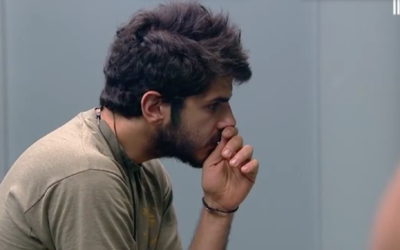 Screenshot of one of the contestants on Big Brother Israel