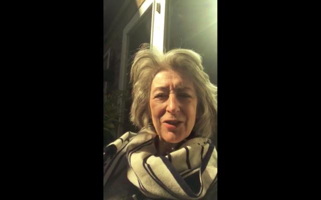 Maureen Lipman delivers audio message to Jewish News readers