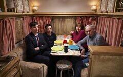 Friday Night Dinner season 6, episode 1 (Credit: Ian Johnson)