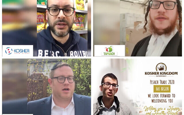 Four kosher store owners call on the community not to panic buy