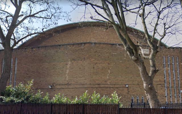 Google maps screenshot of the St John's Wood synagogue