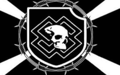 Logo of the Feuerkrieg Division (ADL Website via JTA)