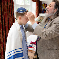 Rabbi Neil Kraft and Hadley Robey