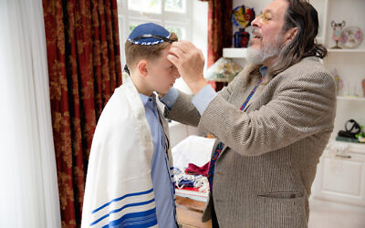 Rabbi Neil Kraft and Hadley Robey