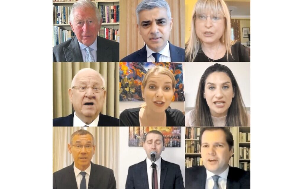 Among those who spoke at the ceremony, included Prince Charles, Sadiq Khan and Marie van der Zyl; President Reuven Rivlin, Rachel Riley and Luciana Berger, Mark Regev, Jonny Turgel and Robert Jenrick
