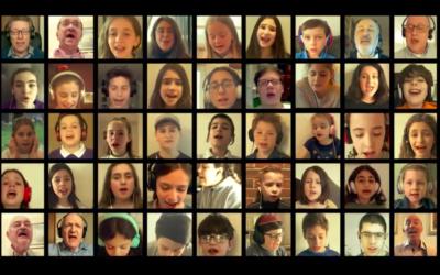 Yom HaShoah UK children's choir