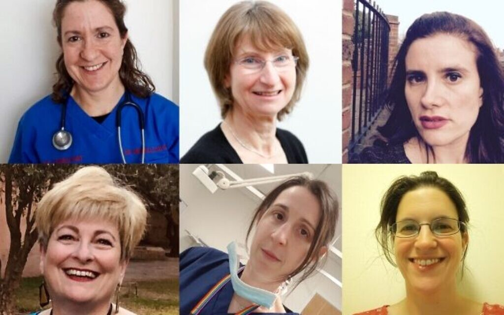 Some of the signatories: Dr Michelle Jacobs, Professor Liz Lightstone, the public health consultant Fiona Sim, Emily Simon GP, Dr Sharon Raymond and Dr Toni Hazell GP