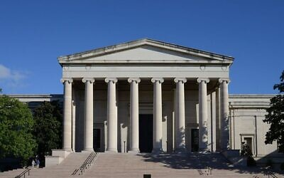 National Gallery of Art, Washington DC (Wikipedia/ Author- Alvesgaspar / (CC BY-SA 4.0)  https://creativecommons.org/licenses/by-sa/4.0/legalcode Attribution-ShareAlike 4.0 International)