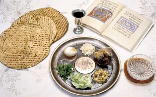 Seder night was  very different for families in Israel and across the world