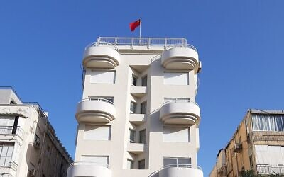 Chinese Embassy in Tel Aviv (Wikipedia/Authorדוג'רית/ (CC BY-SA 4.0) / https://creativecommons.org/licenses/by-sa/4.0/legalcode )