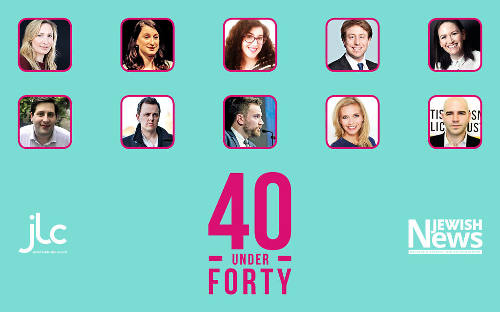 Our top 10 for Forty Under 40