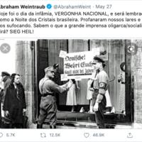 Abraham Weintraub's tweet
