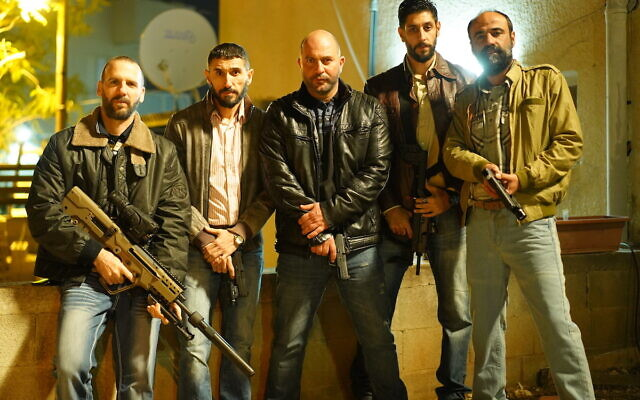 The cast of Fauda