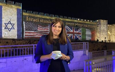 """Jewish communities have stood beside Israel during war and terror, and celebrated with us during times of triumph. Today we stand with you,"" Hotovely said."