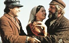 Credit: Photo by c.Everett Collection / Rex Features (1239744g) Paul Michael Glaser, Michelle Marsh, Topol. 1971 'Fiddler on the Roof' Film - 1971