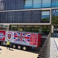 Foodbank delivery from Arsenal to JW3