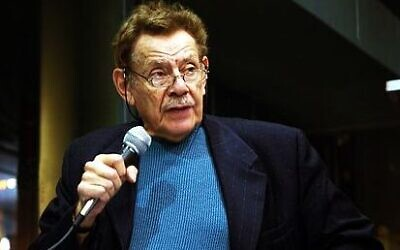 Jerry Stiller in NYC in 2005 (Credit: Daniel Krieger, Smoothdude, CC BY 3.0, https://commons.wikimedia.org/w/index.php?curid=3339430)