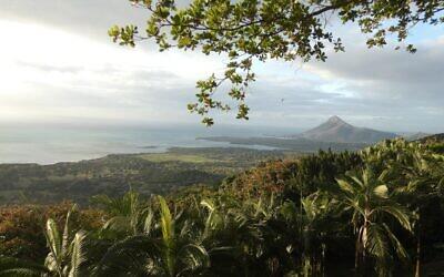 The south-east coast of the beautiful island of Mauritius