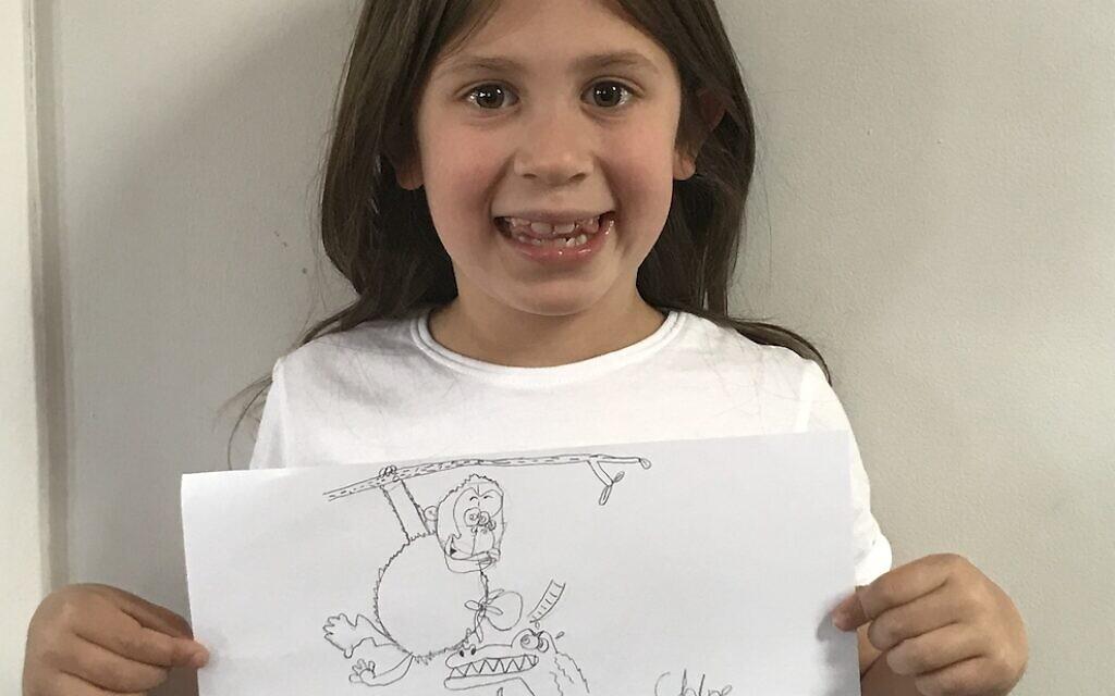 Chloe Hopkins' cartoon art!
