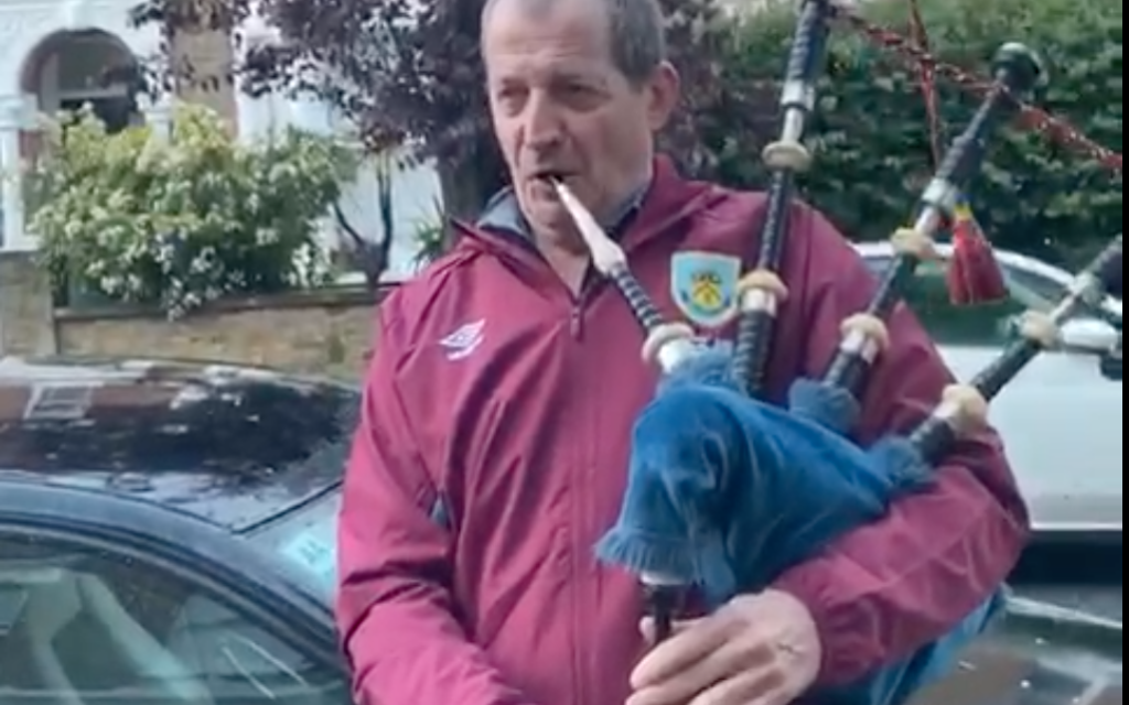 OPINION – Alastair Campbell: Why I'm playing Hava Nagila on my bagpipes