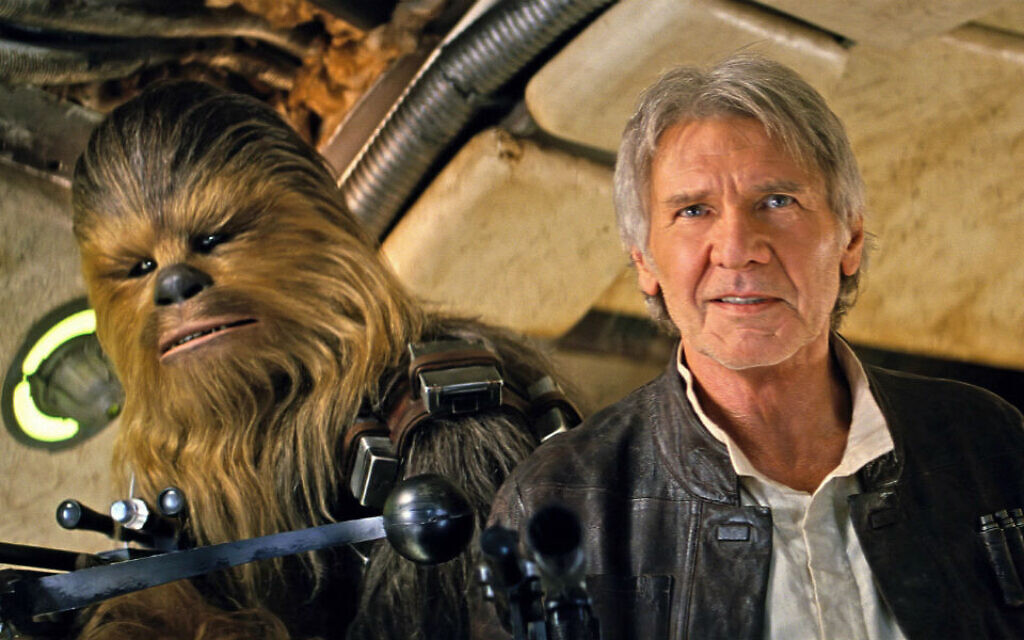 Although Han Solo's religion is unconfirmed, with a mother called Dora Nidelman there's no denying Harrison's roots.
