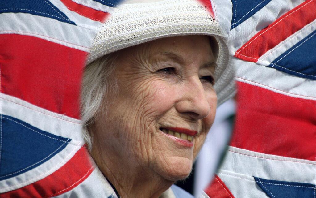 Vera Lynn, a British icon