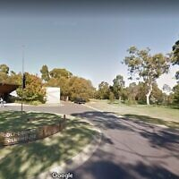 The Cranbourne golf club. (screen capture: Google Street View via Times of Israel)
