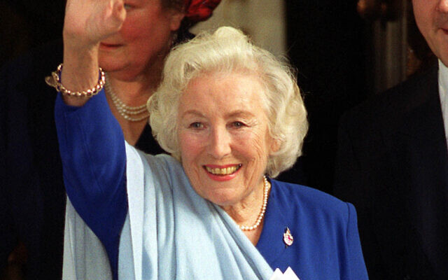 File photo dated 02/11/99 of Dame Vera Lynn, leaving Mansion House, London, following a lunch held for people judged to be the Best of British. Forces sweetheart Dame Vera Lynn has died at the age of 103. Photo credit: John Stillwell/PA Wire