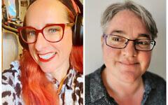 New interim Directors - Rabbi Charley Baginsky and Shelley Shocolinsky-Dwyer