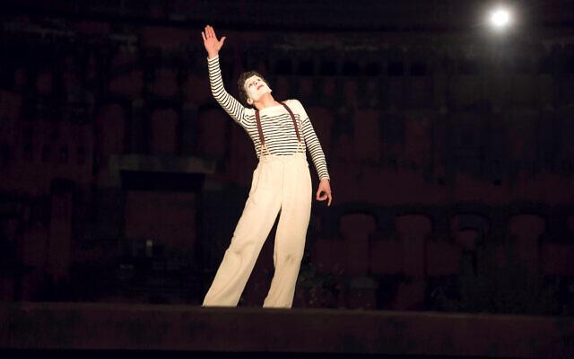 Jesse Eisenberg stars as French-Jewish mime artist Marcel Marceau