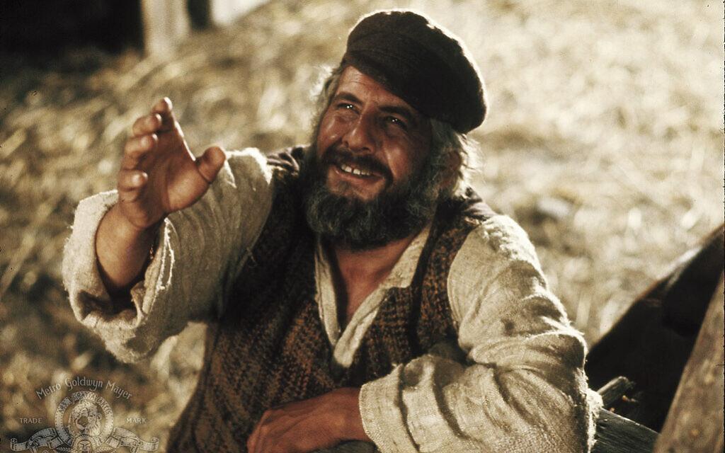 Topol the only Tevye