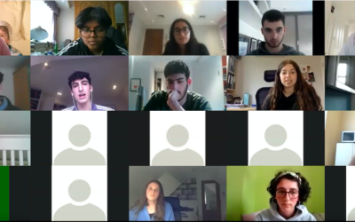 Screenshot of the interschools JSoc discussion on the Black Lives Matter Movement