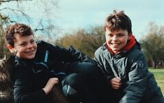 Ben, 11, and Jake, 10