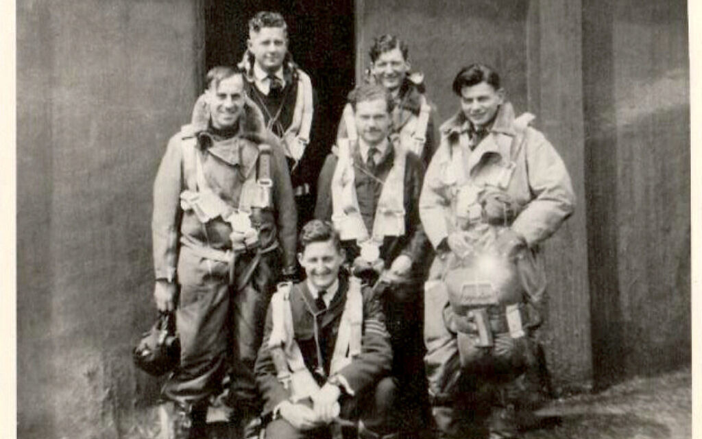 Jews in the RAF included the Pogrel crew