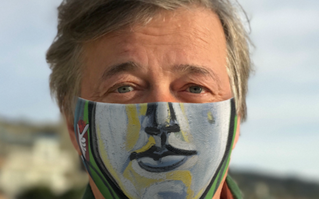 Stephen Fry wears Picasso