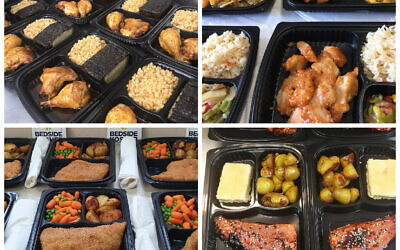 Bedside Kosher's meals, delivered to Jewish patients in hospitals