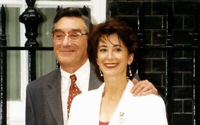 Jack Rosenthal with Maureen