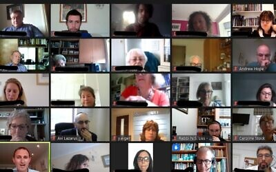 London Jewish Forum's virtual roundtable discussion
