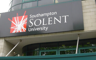 Solent University in Southampton (Wikimedia/Author	Paul Heimann (GoG at German Wikipedia))