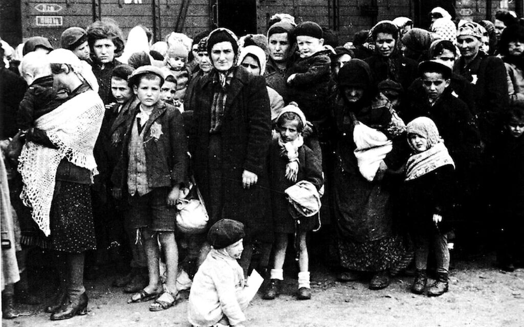 Jews being rounded up and deported from Paris in July 1942