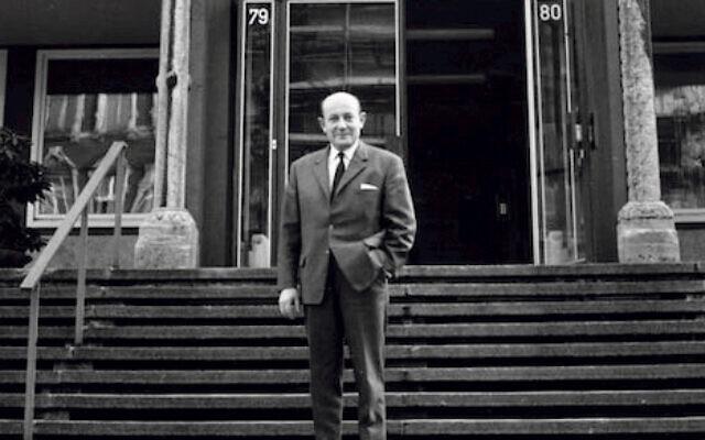 German Jewish leader Heinz Galinski in 1967