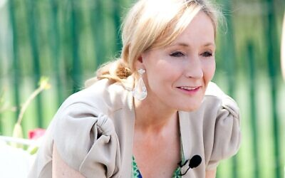 J.K Rowling pictured in 2010 (Credit: Daniel Ogren - Flickr: 100405_EasterEggRoll_683, CC BY 2.0, https://commons.wikimedia.org/w/index.php?curid=15164977)
