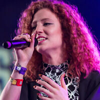 Jess Glynne pictured at a 2015 concert in the US (Credit: Cal Holman from Columbus, GA, USA - Jess Glynne, CC BY 2.0, https://commons.wikimedia.org/w/index.php?curid=42513593)