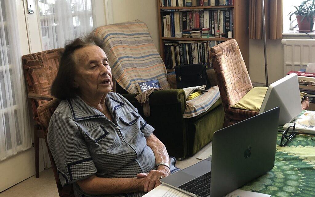 Lily Ebert on Zoom