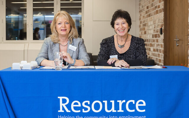 Resource Team Members Kim Maidment and Gill Gallick